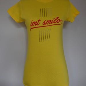 Tričko IMT SMILE dámske žlté