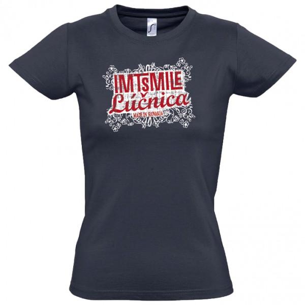 Tričko IMT Lúčnica dámske čierne