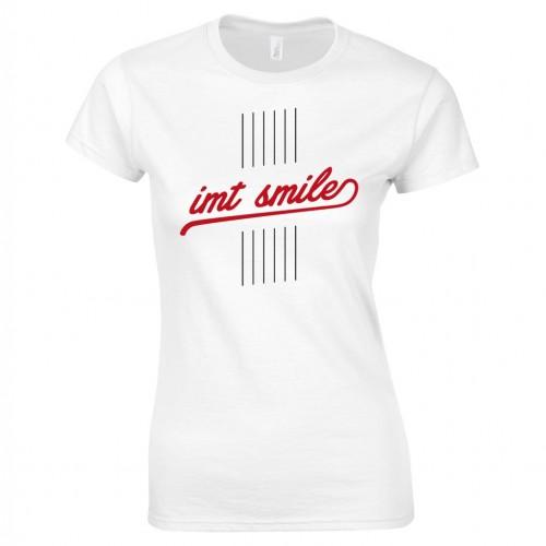 Tričko IMT SMILE dámske biele