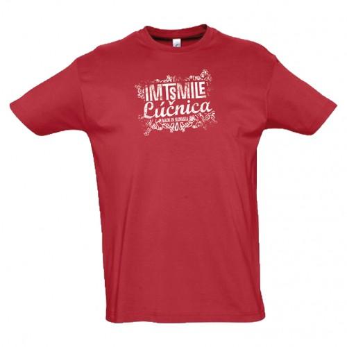 Tričko IMT Lúčnica  pánske červené