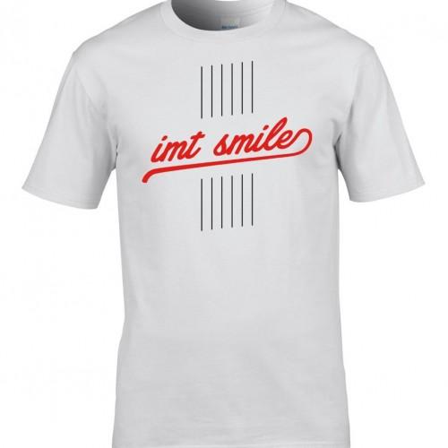 Tričko IMT SMILE pánske biele