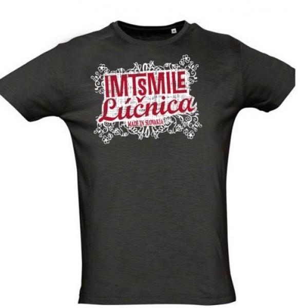 Tričko IMT Lúčnica  pánske čierne