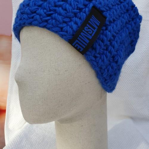 Čiapka modrá