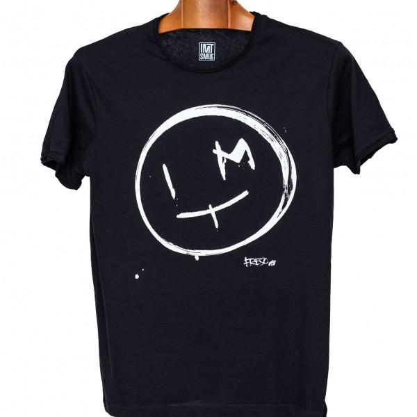 Pánske Čierne tričko Frešo