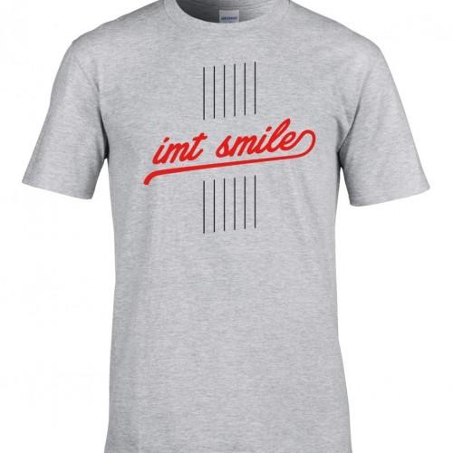 Tričko IMT SMILE pánske sivé